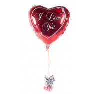"Balloon "" I love you"""